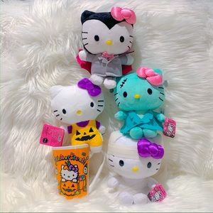 Hello Kitty plush Halloween